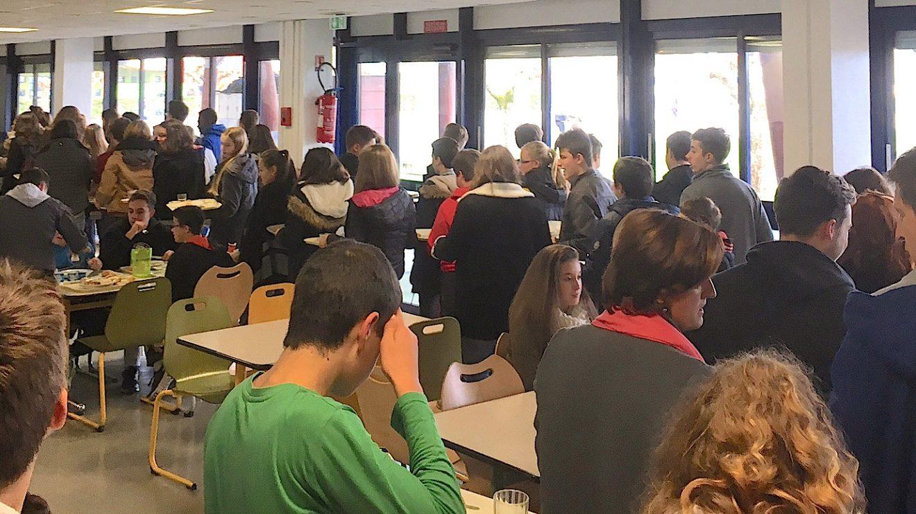 3,1 M€ pour la restructuration du self du lycée Fébus à Orthez.
