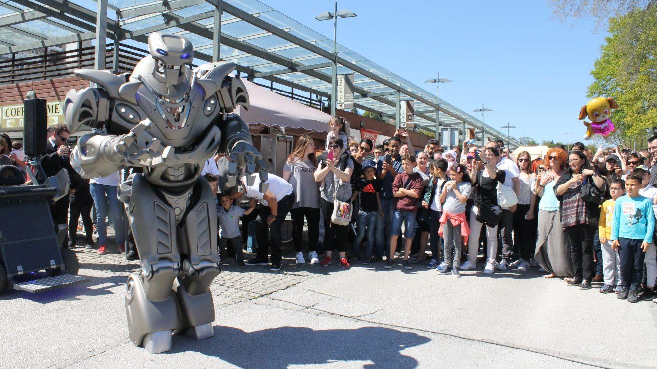 Foire de Mourenx : Sous le soleil, les robots !